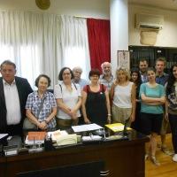 Επίσκεψη Καθηγητών και Μεταπτυχιακών Φοιτητών του Πολυτεχνείου του ΑΠΘ για διερεύνηση προοπτικής πραγματοποίησης μελετών για διατηρητέα μνημεία της Καστοριάς