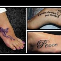 Δες 18 υπέροχα γυναικεία tattoo στο πόδι…Η καλύτερη ευκαιρία για να πάρεις ιδέες!!
