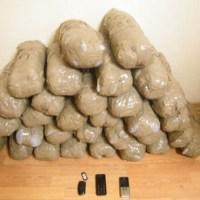 Καστοριά: Σύλληψη 45χρονου στην Κολοκυνθού με 33 κιλά κάνναβης